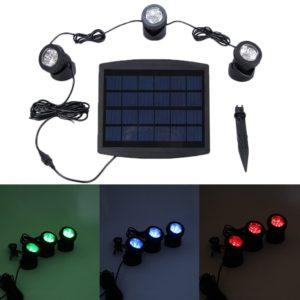 Solar Set für Unterwasserbeleuchtung